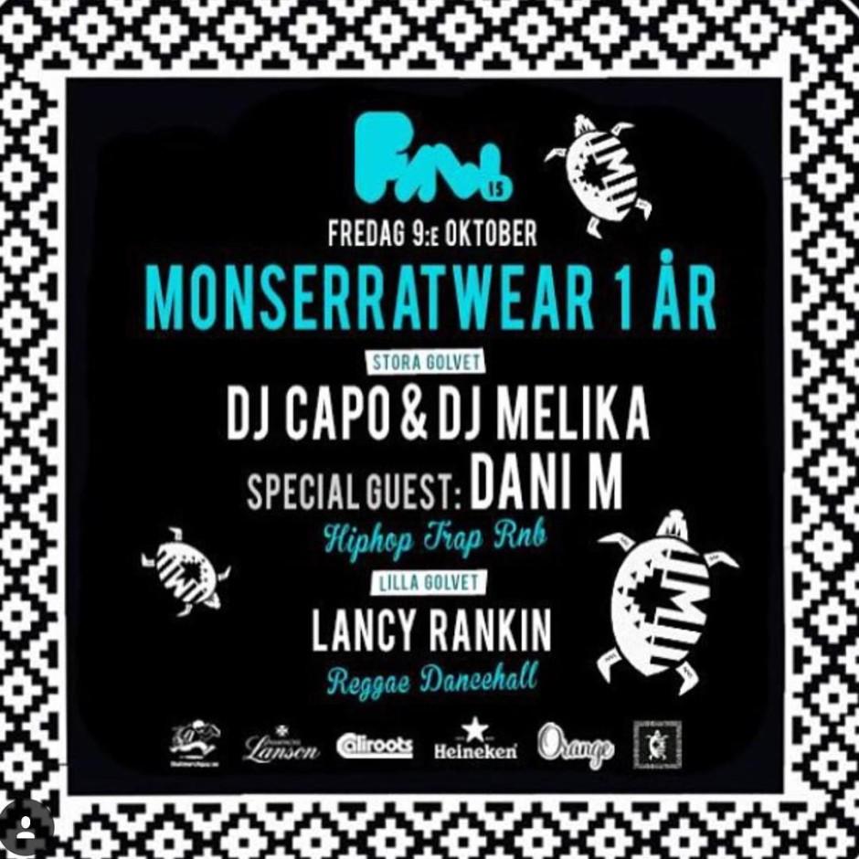 Uppsala på fredag! Jag och @_djcapo_ står för musiken och @danimofficial är på plats! Jag har hört att uppsala är bra på att festa! @m.bottai är självklart med på fredag!