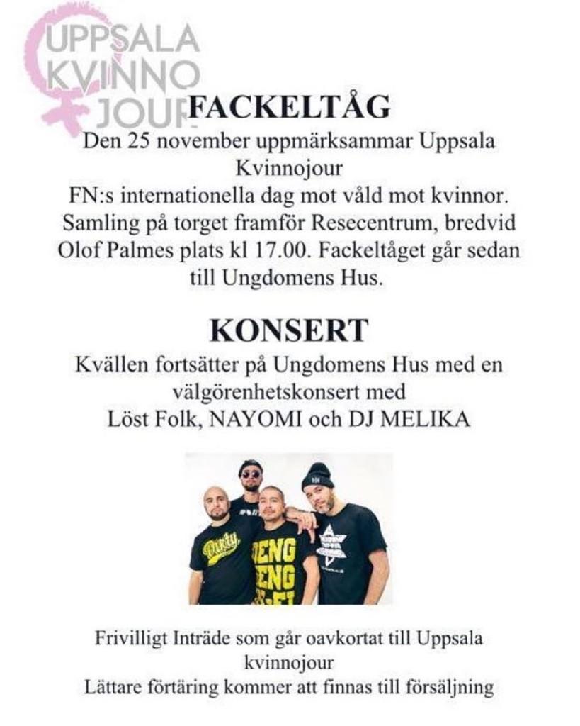Uppsala imorrn!