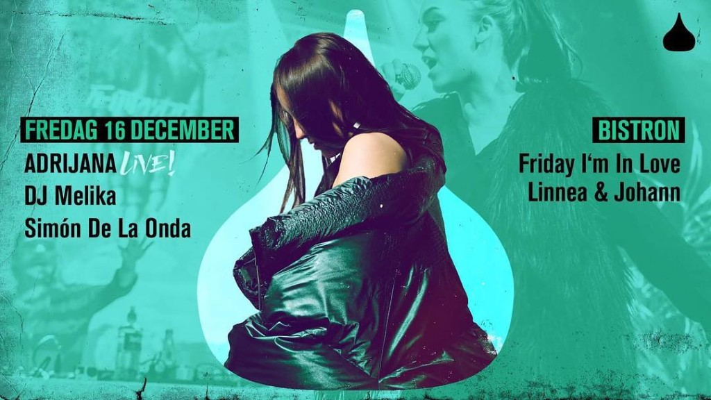 Malmo we coming for u!! moriskapaviljongen 16 December