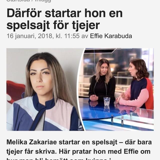 Idag va jag med p Aftonbladet Tv och Tv3 tillsammanhellip